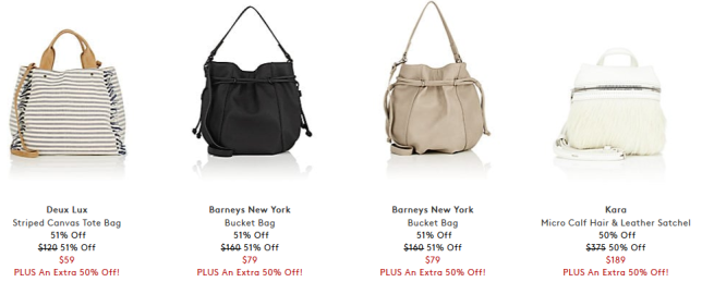 The Independence Day Sale Bags Barneys Warehouse