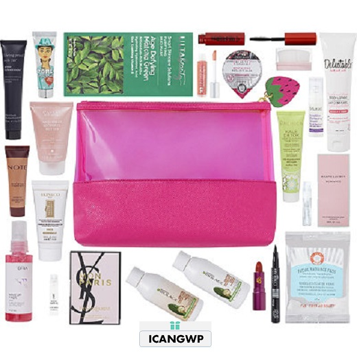 21 Pc Beauty Bag with any 75 purchase icangwp blog july 2018 strawberry