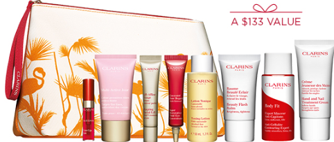 Clarins Beat the heat Refresh your routine with our Summer Beauty Cool gift icangwp blog