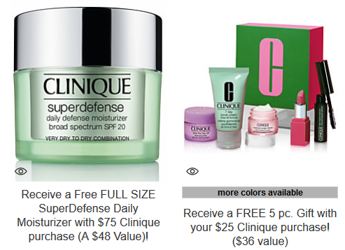 Clinique Surprise Specials Macys icangwp beauty blog