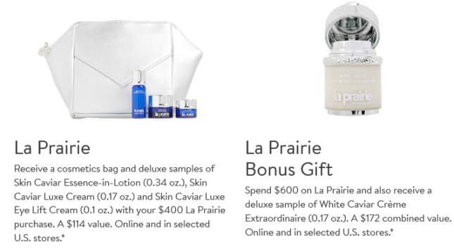 nordstrom anniversary Gift with Purchase la prairie Nordstrom icangwp beauty blog