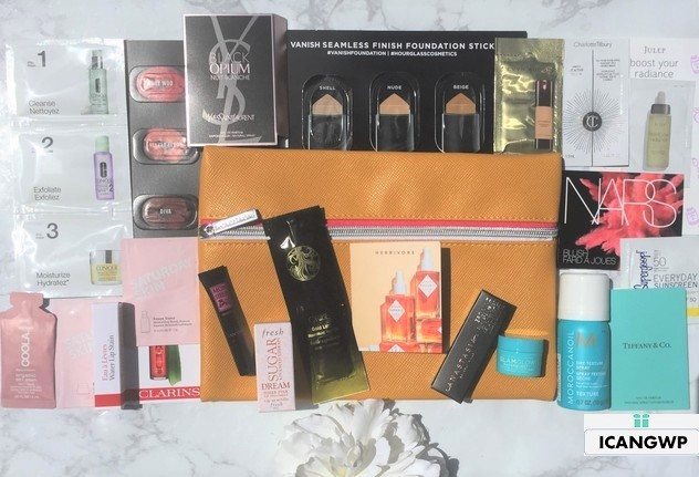 Nordstrom haul beauty gift by icangwp blog