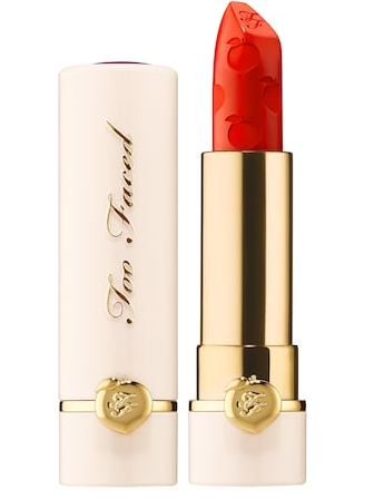 Peach Kiss Moisture Matte Long Wear Lipstick – Peaches and Cream Collection Too Faced Sephora icangwp blog