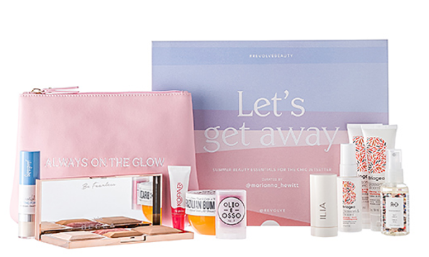 REVOLVE Beauty x Marianna Hewitt LET S GET AWAY Beauty Box icangwp blog