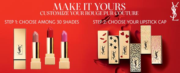 Rouge Pur Couture Custom Caps Yves Saint Laurent Sephora icangp blog