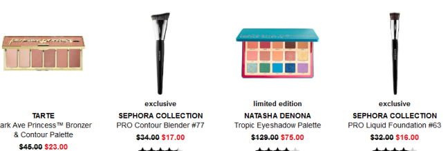 Sephora weekly wow Coupons Promo Codes Coupon Codes Sephora icangwp blog
