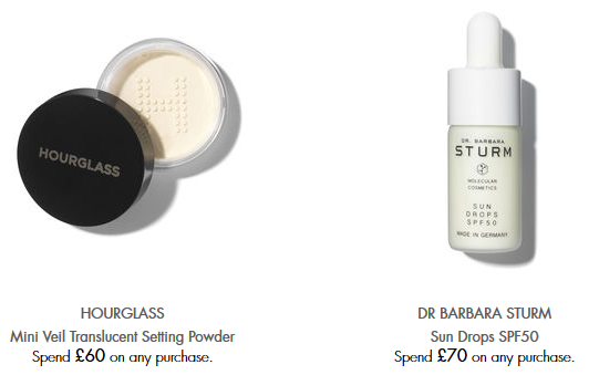 Space NK uk dr barbara sturm Gifts with Purchase icangwp blog