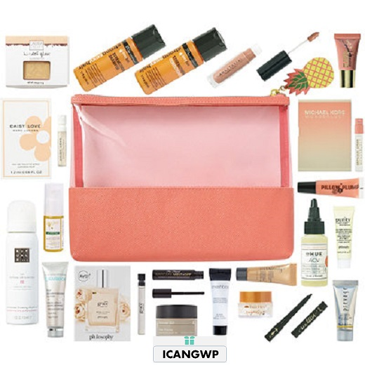 ulta 21 Pc Beauty Bag with any 75 icangwp july 2018