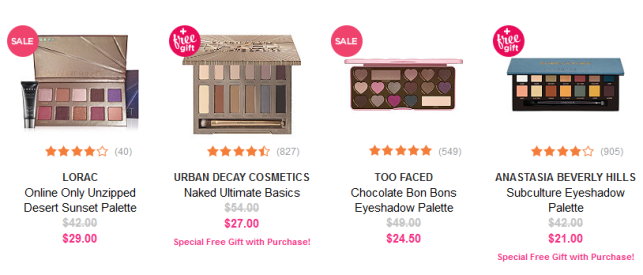 Ulta Beauty 4th of july sale makeup palette icangwp beaury blog