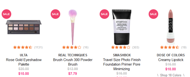 Ulta Beauty 4th of july sale under 15 icangwp beaury blog