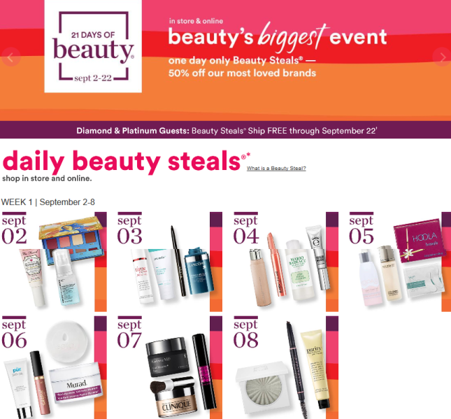 21 Days Of Beauty Ulta Beauty 2018 full spoilers icangwp blog (2)