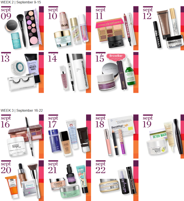 21 Days Of Beauty Ulta Beauty 2018 full spoilers icangwp blog (3)