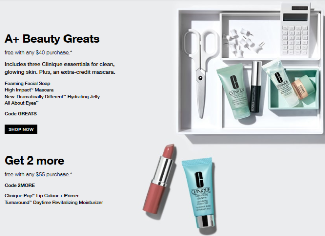 All Offers Clinique