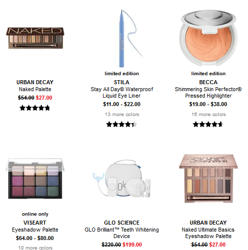 Beauty Sale Sephora