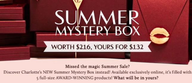 Charlotte Tilbury mystery box icangwp blog aug 2018