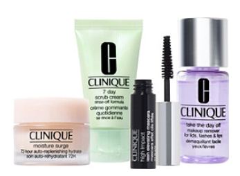 Clinique Beauty Break FREE 4 Pc Clinique Gift with any 50 online purchase Ulta Beauty icangwp blog