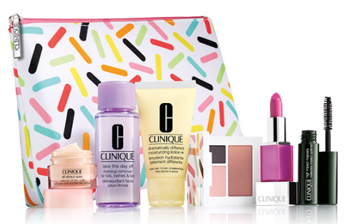 Clinique New Friday Flash offer 7 pretty pieces FREE with purchase icangwp blog