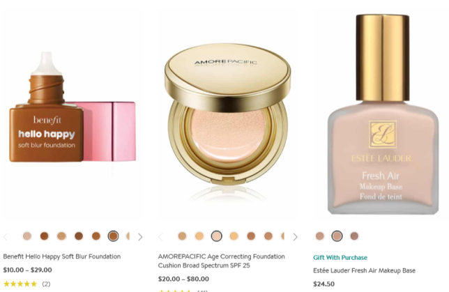 Foundation Makeup Mineral Liquid Long Wear More Nordstrom