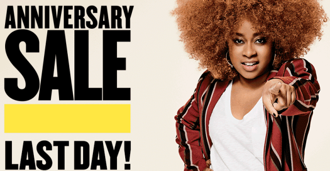 Hurry Last day to shop Anniversary Sale icangwp blog