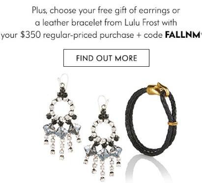 neiman marcus free gift earrings icangwp blog