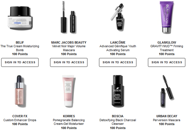 sephora Rewards Bazaar aug 2018 icangwp beauty blog