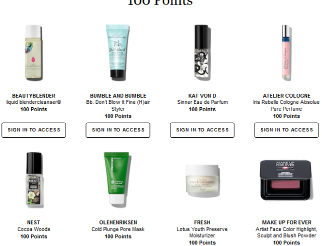 sephora Rewards Bazaar aug 2018 icangwp blog