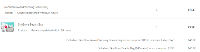 SkinStore gwp icangpw blog