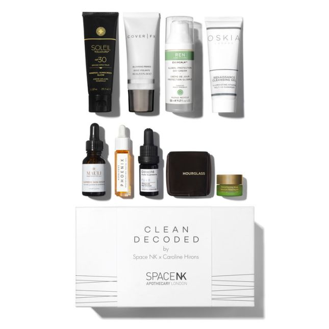 space nk x caroline hirons beauty box aug 2018 icangwp blog