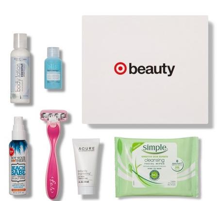 Target Beauty Box august 2018 icangwp blog Target