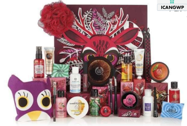 25 Days Of Enchanted Deluxe Advent Calendar The Body Shop advent calendar icangwp blog