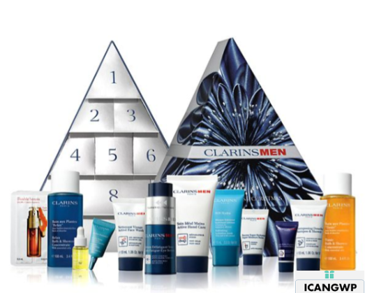 Clarins Men 12 Days of Christmas advent calendar 2018 icangwp blog 2