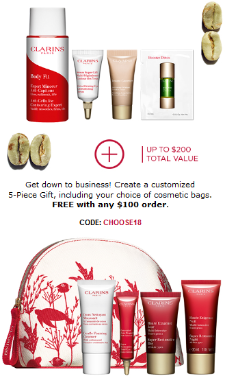 Clarins NEW Beauty at Work Box FREE Coffee loving skincare gift icangwp blog