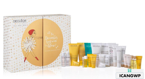 Decleor I Just Want To Glow 2018 Advent Calendar icangwp blog sept 2018