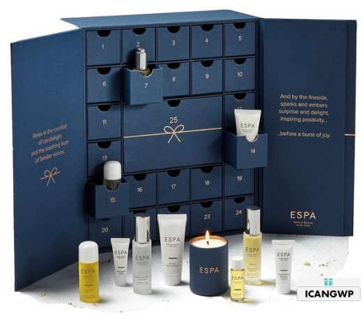 espa advent calendar 2018 beauty advent calendar 2018 icangwp blog