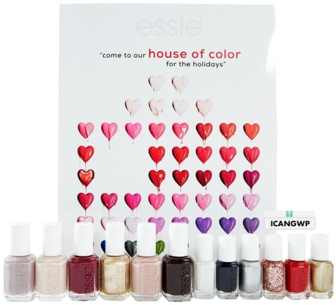 essie-advent-calendar 2018 beauty advent calendar 2018 icangwp blog