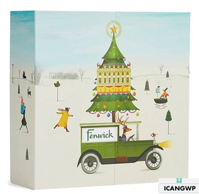 fenwick beauty advent calendar 2018 icangwp blog 2018 sept