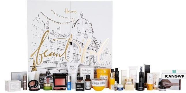 harrods-advet-calendar-2018-beauty advent calendar 2018 icangwp blog
