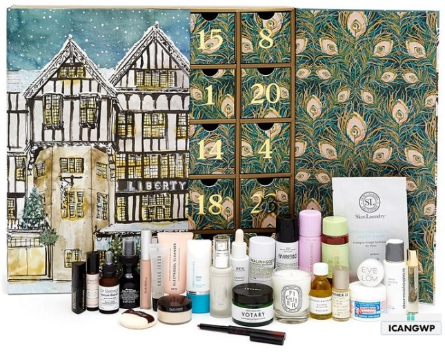 liberty-london-beauty-advent-calendar-2018 beauty advent calendar 2018 icangwp blog