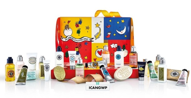 loccitane advent calendar 2018 classic icangwp beauty blog 2018 your beauty advent calendar destination