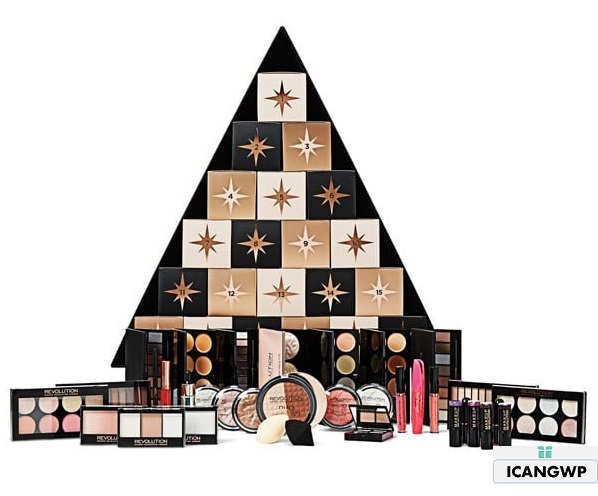 Makeup Revolution Christmas Tree Calendar 2020 Make Up Revolution Christmas Tree Beuaty Advent Calendar  makeup