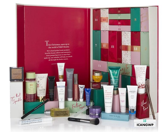 marks and spencer beauty advent calendar 2018 free advent calendar 2018 icangwp beauty blog your beauty advent calendar destination