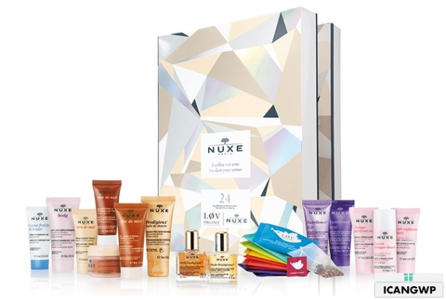 nuxe advent-calendars 2018 beauty advent calenar 2018 icangwp beauty blog