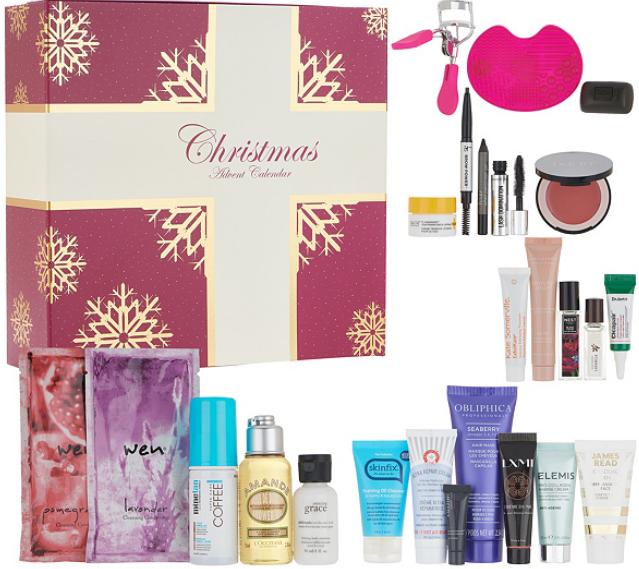 QVC Beauty Christmas Advent Calendar 24 Piece Collection beauty advent calendar 2018 icangwp beauty blog