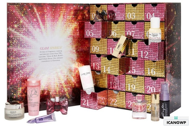 selfridges-exclusive-loreal-luxe-24-day-advent-calendar-2018 icangwp beauty blog