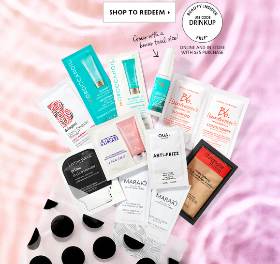 Sephora coupon 2018 drinkup gift bag icangwp blog