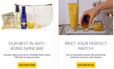 Special offers and discounts L Occitane USA icangwp blog
