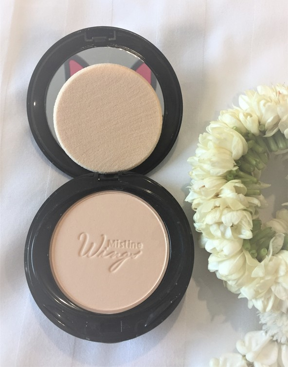 thailand beauty review by icangwp beauty blog mistine wing foundation powder review
