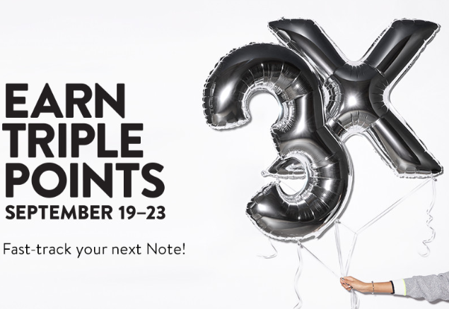 Triple Points Nordstrom september 2018 icangwp blog
