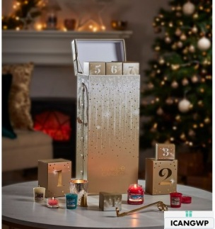 Yankee-Advent-Calendar 2018 beauty advent calendar icangwp blog