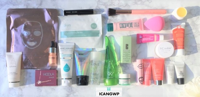 asos beauty advent calendar review by icangwp blog haul